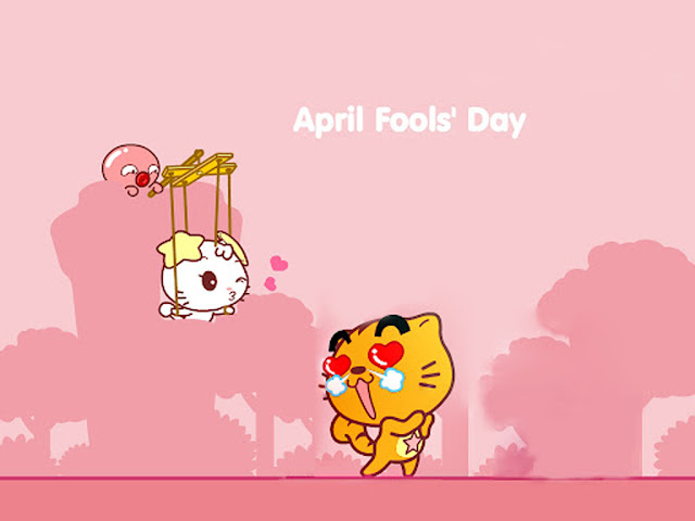 Free Download April Fools' Day PowerPoint Background 4