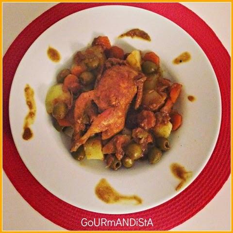 image-Tajine de caille aux olives
