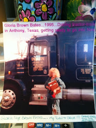 Gloria/Granny Gee's Truck Driving Days...
