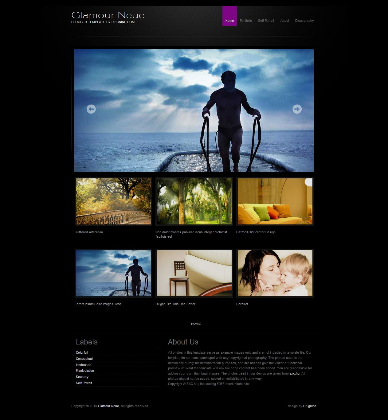 photo gallery html template free download - mumpung gratis template khusus blogger wallpaper mas