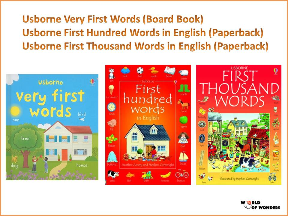 World Of Wonders Popular English Books From Usborne