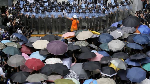 """香港""""雨伞革命""""图2"""