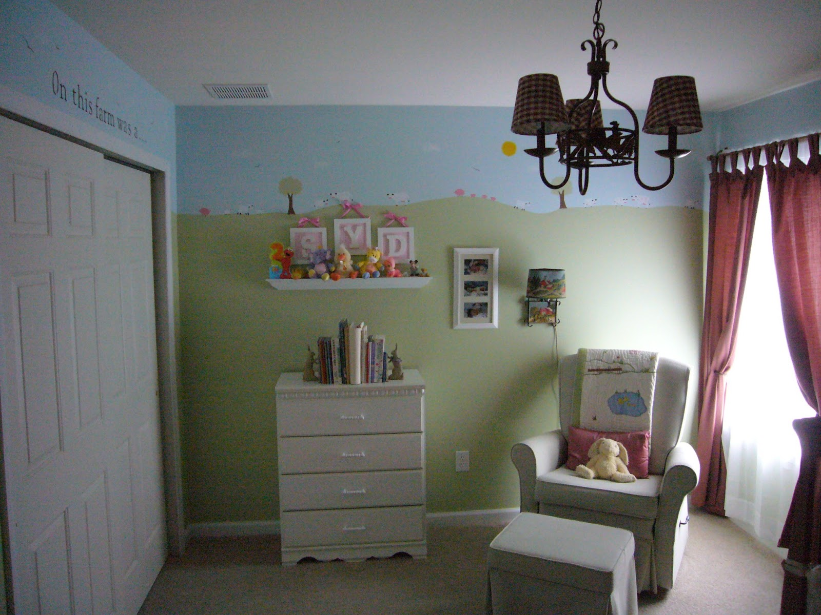 Recalling My Kids Farm Theme Nursery