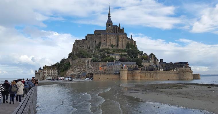 Mont Saint Michel. Normandía. Francia