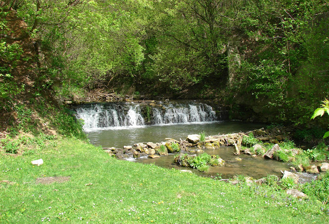 Водопад на Гниловодке в районе села Княжполь
