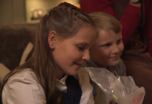 Norwegian Crown Prince Family Took Part In A Program Of A Norwegian Television