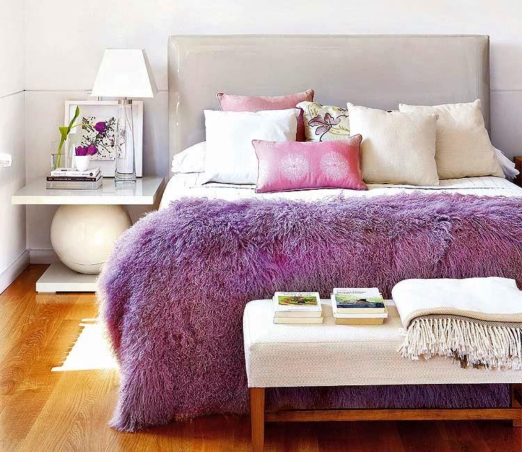 cama com abajur