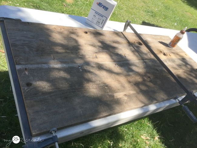 Making A Table Top And Bottom Using Pocket Holes