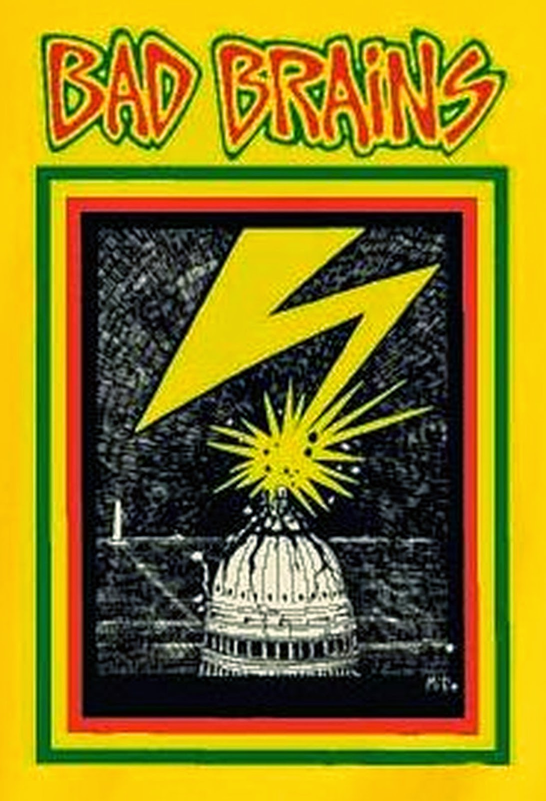 Bad Brains Skull Bad Brains Odds n Ends