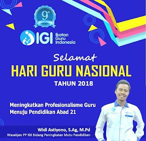 Selamat Hari Guru Nasional