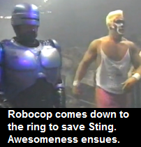 wrestling thread Robocop