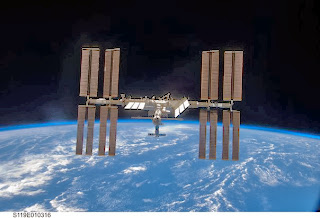 "International Space Station wound up ""brownie""??"