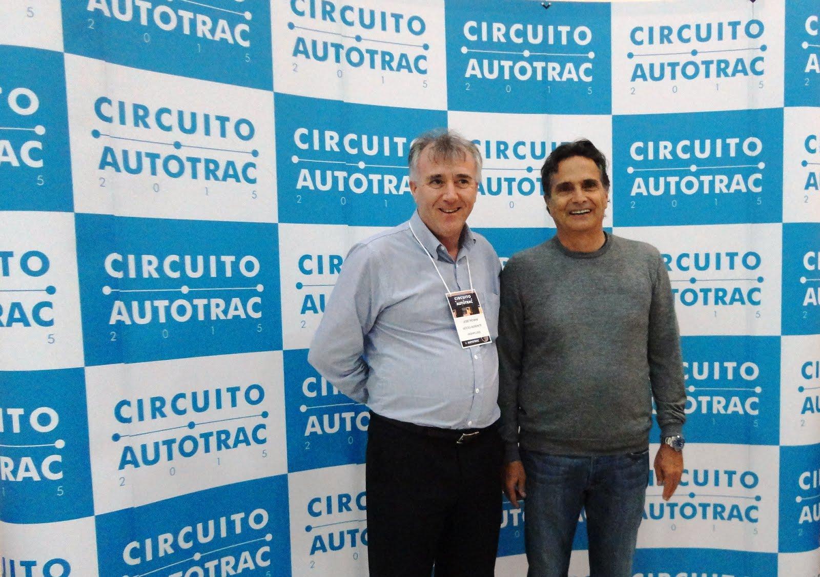 Circuito Autotrac 2015  - José Rovaní e Nélson Piquet