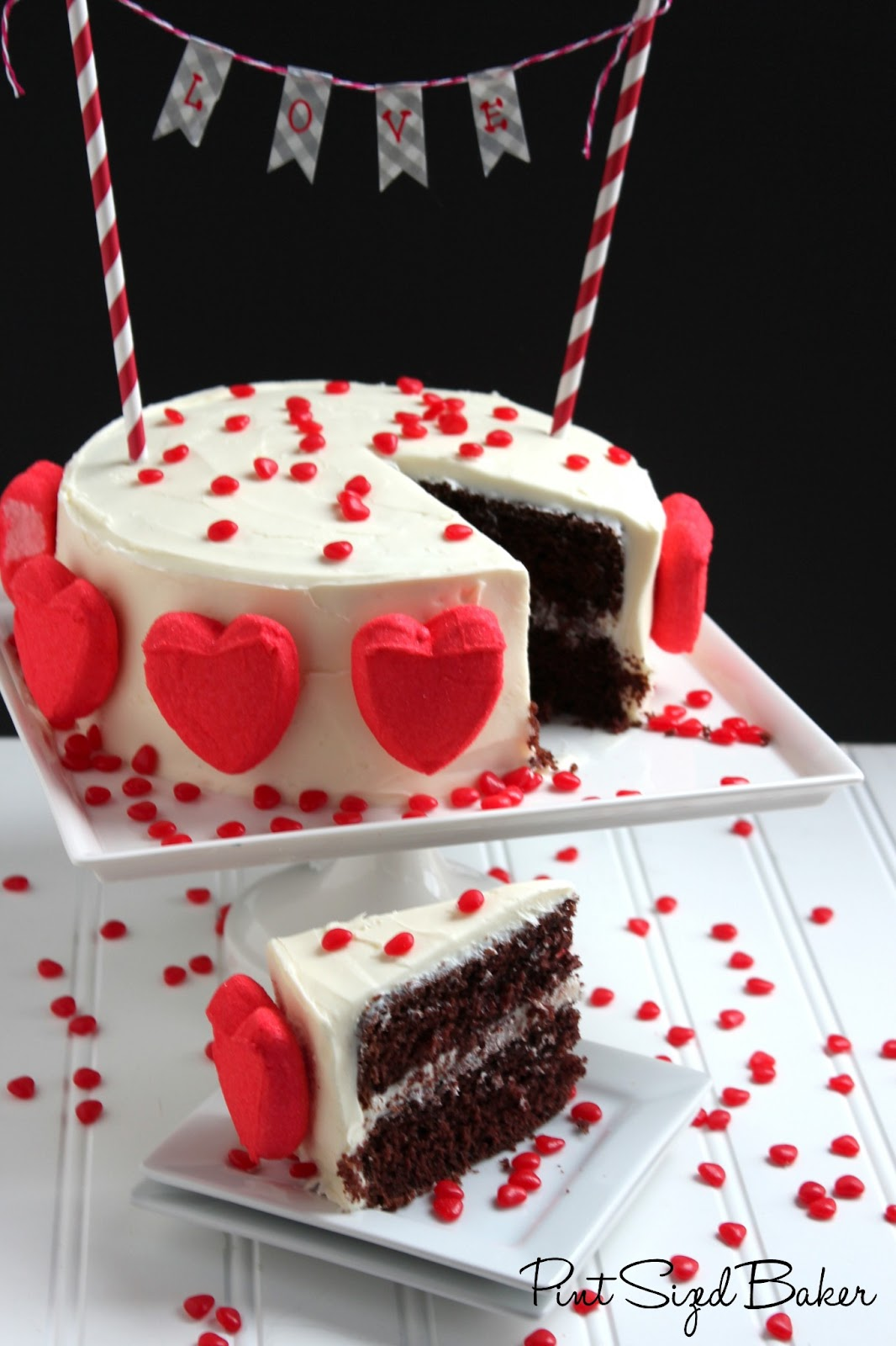 This Simple Yet Stunning Pretty Valentineu0027s Cake Is Perfect For Any Day Of  The Year That