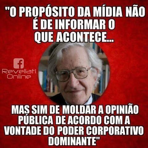 Noam Chomsky e a imprensa (1)