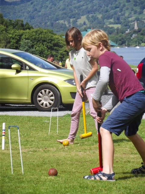 croquet Wray Castle