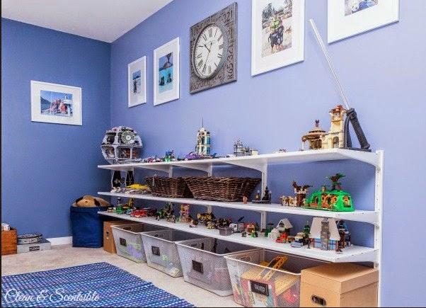 ide tempat menyimpan mainan lego anak dan action figure