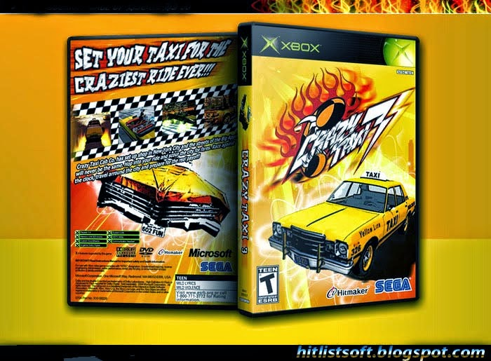 Crazy Taxi 3 pc Game Full