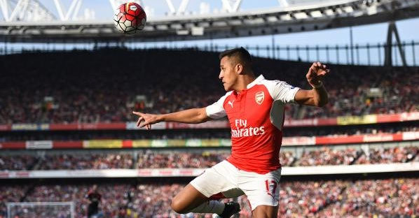 Alexis Sanchez Arsenal -Premier League