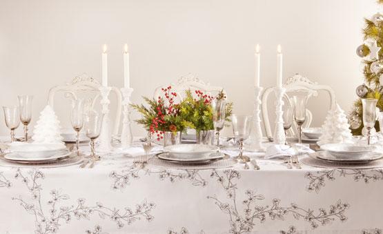 decoración mesas Navidad Fin de Año