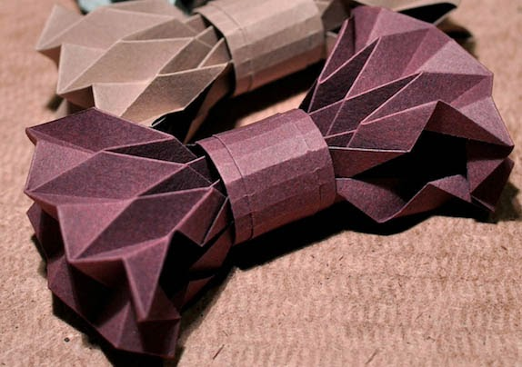 How To Make A Bowtie Origami