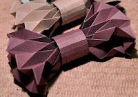 make bowtie origami