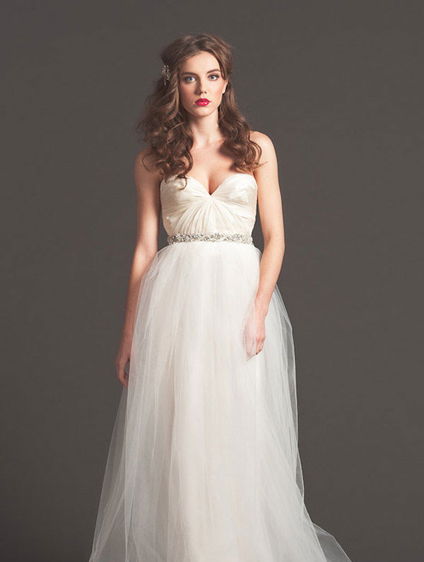 Sarah Seven Braut Herbst 2013 Brautkleider - Beste Brautkleide