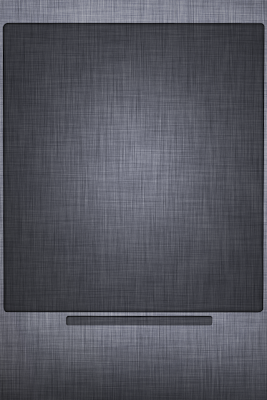iPhone 5 Home Screen Gray Apple texture Background