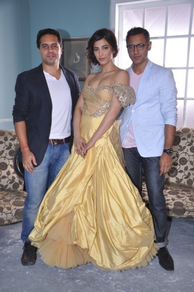Shruti Hassan's photoshoot for Shantanu & Nikhil
