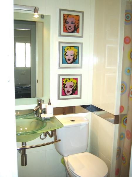 Tr s em casa antes e depois banheiro - Pinturas para pintar azulejos ...