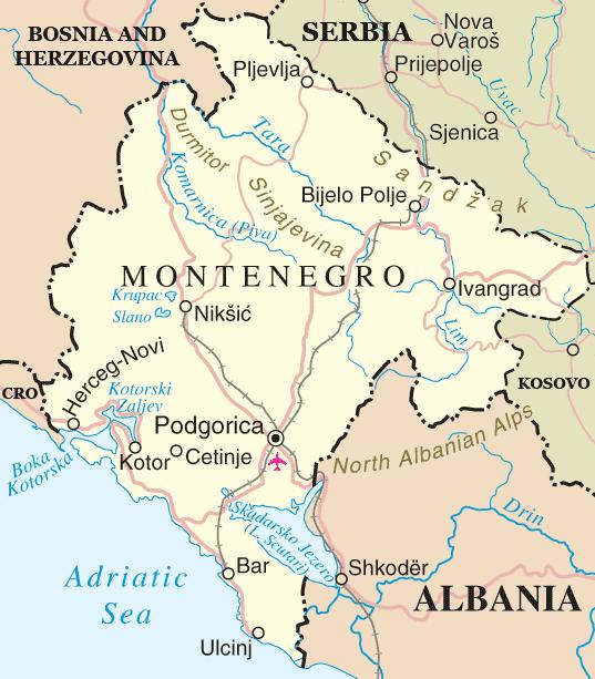 Jejak Islam di Montenegro
