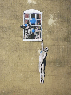 Bristol Street Art - Bansky on Frog st