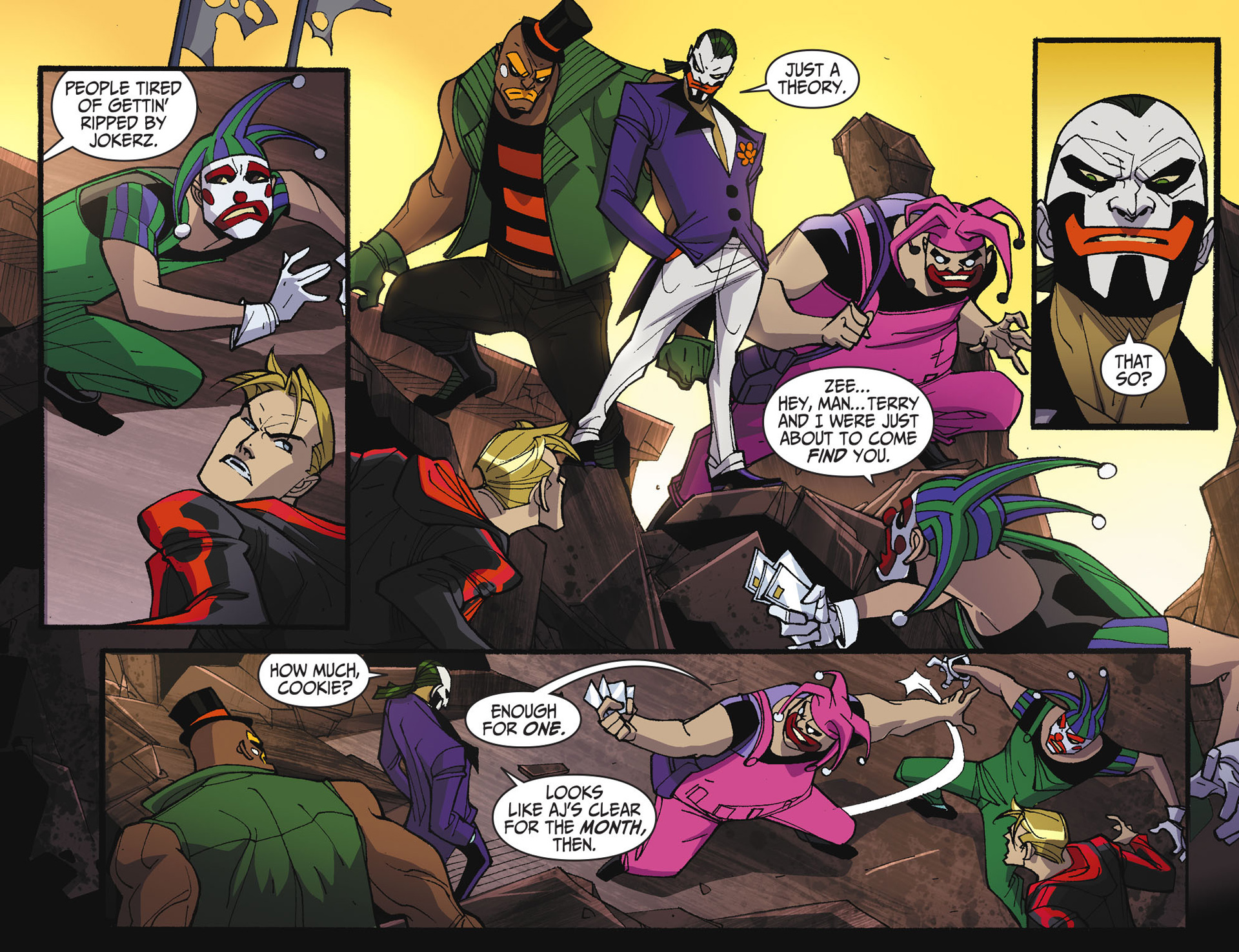 Batman Beyond 2.0 #17 #24 - English 11