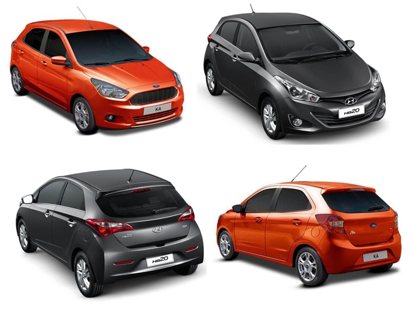Novo Ford Ka X Hyundai Hb Comparativo
