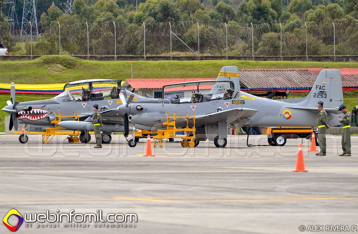T-27 Tucano Fuerza Aerea Colombiana