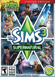 The Sims 3: Supernatural Limited Edition   PC