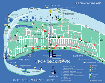 You can't get lost in Provincetown . . .