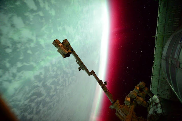 NASA Astronaut Scott Kelly captured this photo of an aurora from the International Space Station on June 23, 2015. Credit: NASA