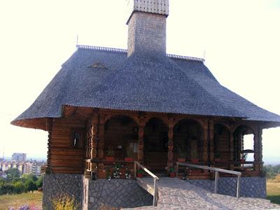 Biserica ortodoxa din lemn Covasna