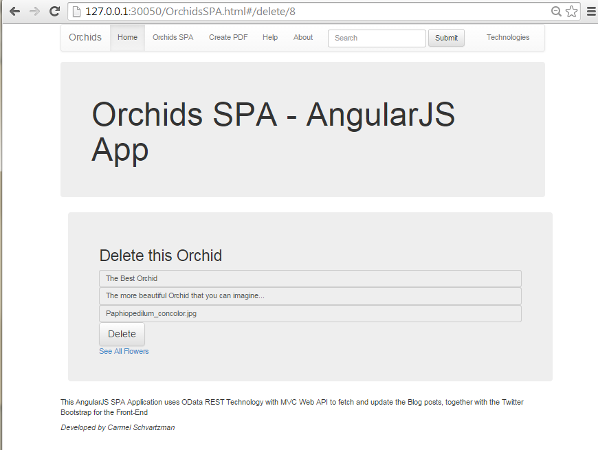 How to Design an AngularJS SPA with CRUD operations for OData RESTful Web API         23