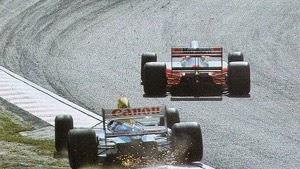 Mansell sai da corrida Gp do Japão e Senna é tricampeão
