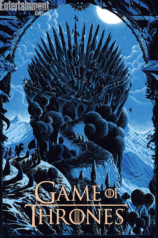 poster trono de hierro mondo - Juego de Tronos en los siete reinos