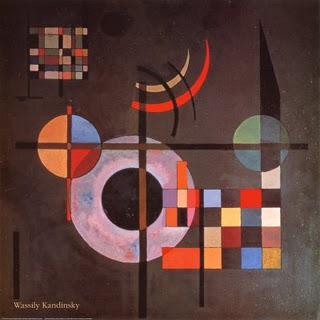 Gravitation 1935 - Wassily Kandinsky painting