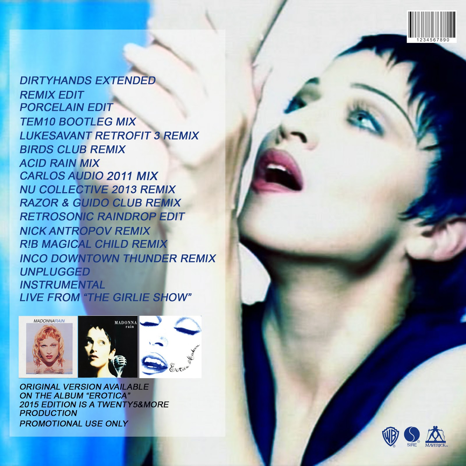 madonna rain single cover (mark kamins produced the early single everybody, and jellybean benitez produced pretty soon she was on the cover of every magazine around, and by the time nude the other single is rain, a painfully slow mechanical number that.
