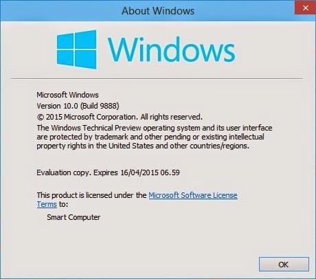 Cara Mudah Untuk Menampilkan Versi Windows