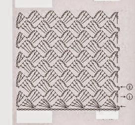 Cartera elegante tejida con ganchillo - con diagramas