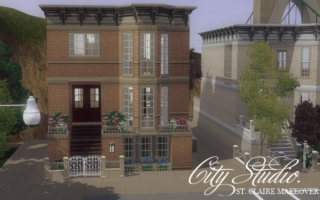 My sims 3 blog city studio by sims in spring for Apartment design sims 3