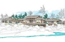 Island House Plan 2