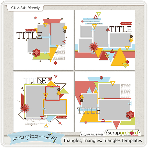 http://scraporchard.com/market/Triangles-Triangles-Triangles-Digital-Scrapbook-Templates.html