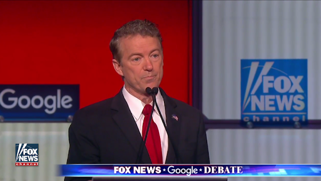 Rand Paul Fox News Channel Debate Google
